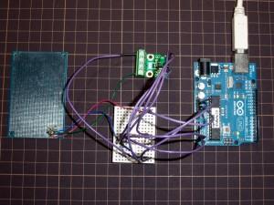 シャントレギュレータの電圧を測定